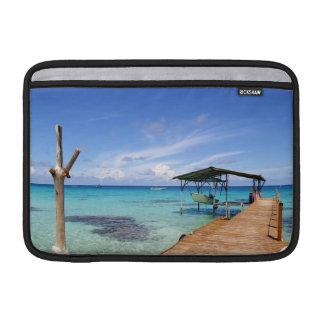 Blue Lagoon at the Tuamotus French Polynesia MacBook Sleeves