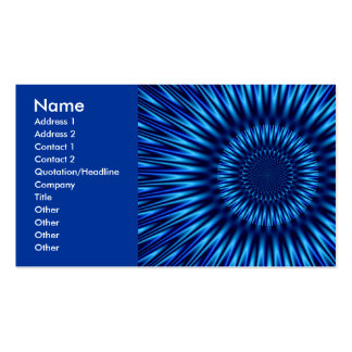 Blue Lagoon Business Cards