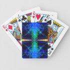 """""""Blue Lagoon"""" Fractal Playing Cards"""