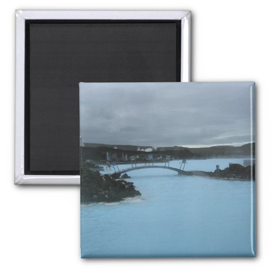 Blue Lagoon Iceland Magnet