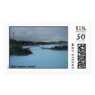 Blue Lagoon, Iceland Postage