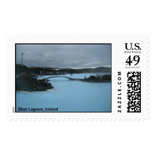 Blue Lagoon, Iceland Postage Stamps