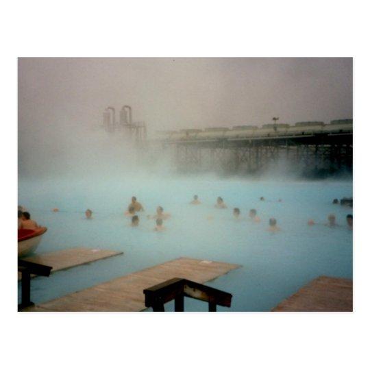 Blue Lagoon, Iceland Postcard