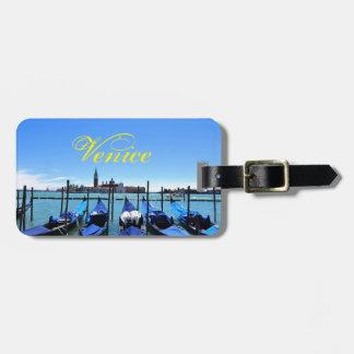 Blue lagoon in Venice, Italy Bag Tag