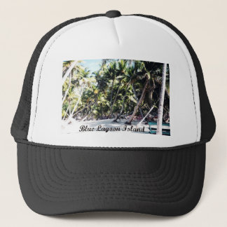 Blue Lagoon Island Trucker Hat
