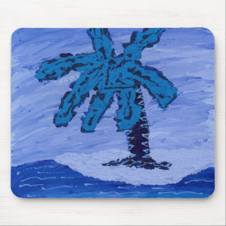 Blue Lagoon Mouse Pad