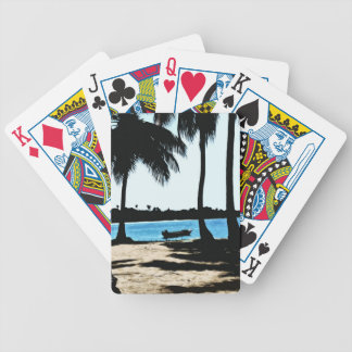 Blue Lagoon Bicycle Playing Cards