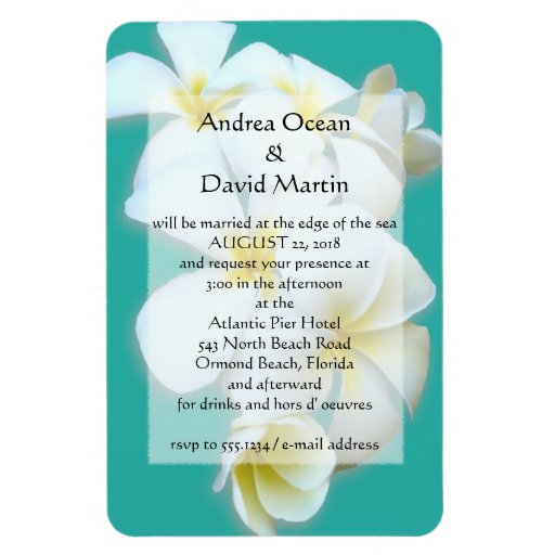 Magnet Wedding Invitations can inspire you to create best invitation template