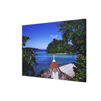 Blue Lagoon, Port Antonio, Jamaica Canvas Print