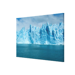 Blue Lake, Ice And Sky Canvas Print