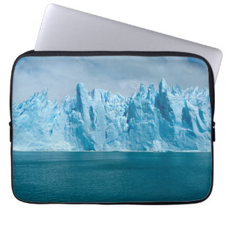 Blue Lake, Ice And Sky Laptop Sleeves