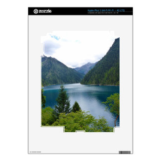 Blue Lake iPad 3 Skin