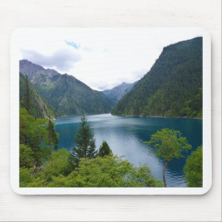 Blue Lake Mouse Pad