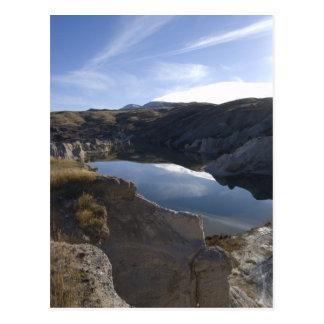 blue lake postcard