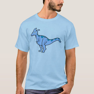 Blue Lambeosaurus T-Shirt