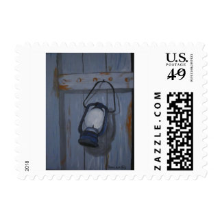 Blue Lamp Postage