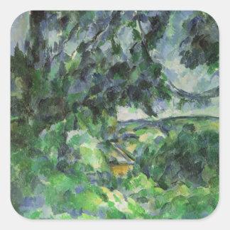 Blue Landscape, c.1903 Square Sticker