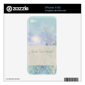 Blue Landscape Harmony Skins For iPhone 4S