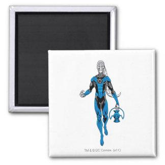 Blue Lantern 4 Magnet
