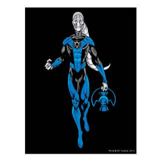 Blue Lantern 4 Postcard
