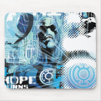 Blue Lantern Graphic 1 Mouse Pad