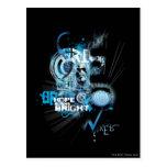 Blue Lantern Graphic 1 Postcard