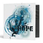 Blue Lantern Graphic 3 Vinyl Binder
