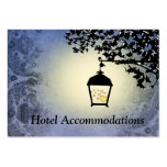 Blue Lantern Hotel Accommodation Insert Cards Business Card Templates