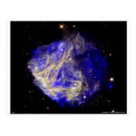 Blue Large Magellanic Cloud Post Card