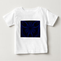 blue laser pattern baby T-Shirt