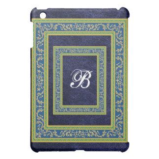 Blue Lather Monogram iPad Case