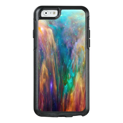 Blue Lavender Cloud Nebula Pink Galaxy Outer Space OtterBox iPhone 6/6s Case