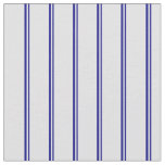 [ Thumbnail: Blue & Lavender Colored Lined Pattern Fabric ]