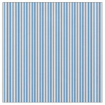 [ Thumbnail: Blue & Lavender Colored Pattern of Stripes Fabric ]