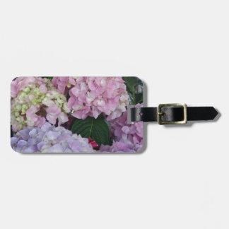 Blue Lavender Hydrangeas Luggage Tag