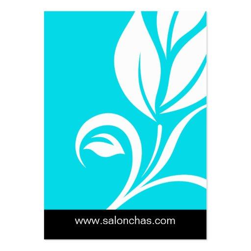 Blue Leaf Salon Spa Gift Card Certificate Business Card