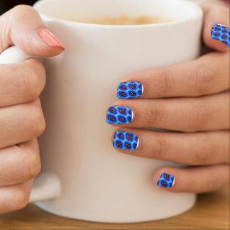 Blue Leapard Truchet Minx® Nail Wraps