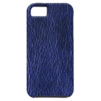 Blue Leather Case-Mate iPhone 5 Cases