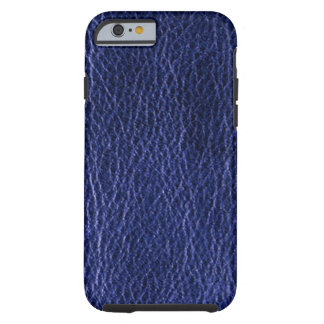 Blue Leather iPhone 6 Case