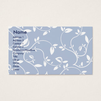 Blue Leaves - Business Business Card