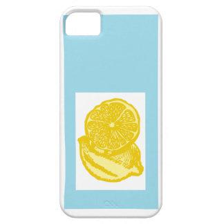 Blue Lemons iPhone SE/5/5s Case