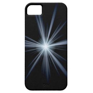 Blue Lens Flare Burst iPhone 5 Cover