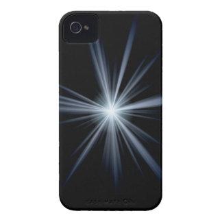 Blue Lens Flare Burst Case-Mate iPhone 4 Case