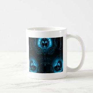 Blue Lens Flare Classic White Coffee Mug