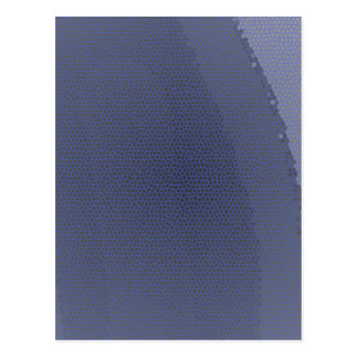 Blue leopard postcard