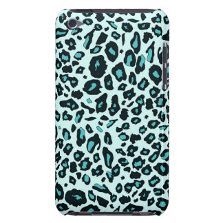 Blue leopard print barely there iPod covers