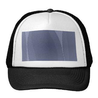 Blue leopard trucker hat