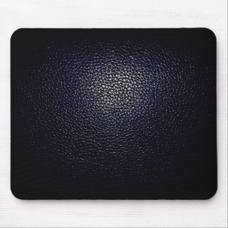 blue lether imitation mouse pad