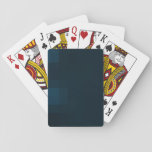 Blue LETTER BARAJAS Playing Cards