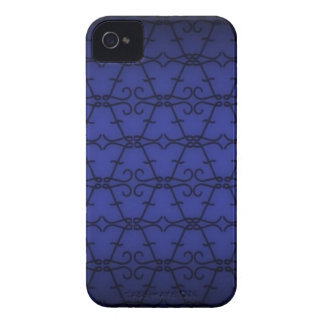 Blue Letter Pattern Case-Mate iPhone 4 Case